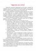Imagine document Negocierea unui Contract