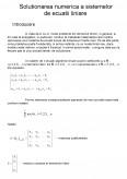 Imagine document Solutionarea numerica a sistemelor