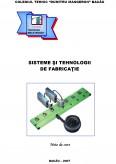 Imagine document Sisteme si tehnologii de fabricatie