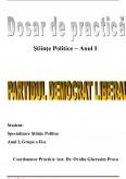 Imagine document Partidul Democrat Liberal