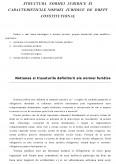 Imagine document Structura normei juridice si caracteristicile normei juridice de drept constitutional