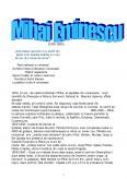 Imagine document Mihai Eminescu
