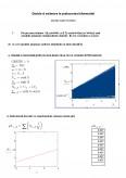 Imagine document Decizie si Estimare in Prelucrarea Informatiilor