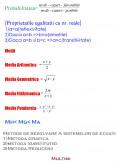 Imagine document Formule algebrice