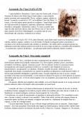 Imagine document Leonardo da Vinci