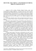 Recenzie - Zigu Ornea - Anii Treizeci, Extrema Dreapta Romaneasca