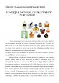 Imagine document Comertul Mondial cu Produse de Parfumerie