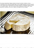 Imagine document Camembert cheese