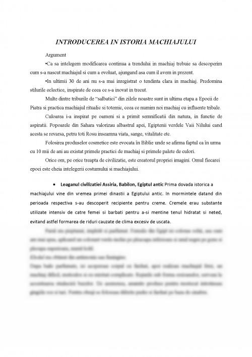 Referat Introducere In Istoria Machiajului 314517 Graduo