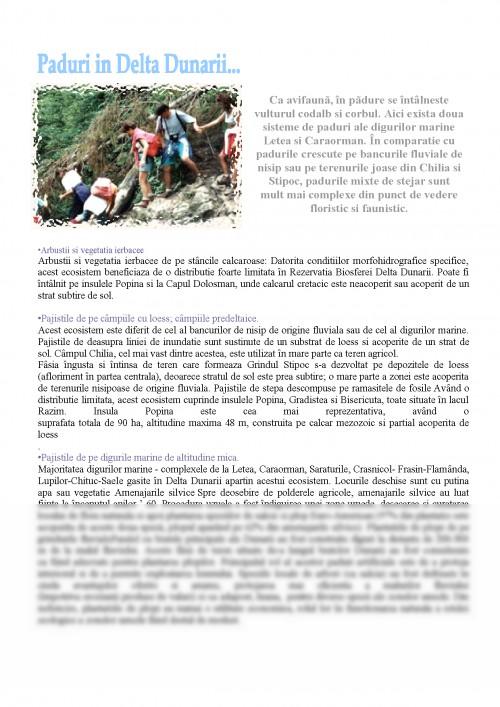 Referat: Biodiversitatea Cuprinsa In Delta Dunarii (#338813